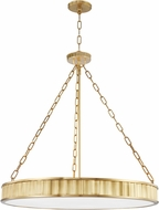 Hudson Valley 903-AGB Middlebury Modern Aged Brass Drop Lighting