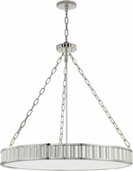 Hudson Valley 903-PN Middlebury Contemporary Polished Nickel Ceiling Light Pendant