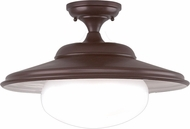 Hudson Valley 9109-OB Independence Contemporary Old Bronze 19 Ceiling Light Fixture