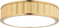 Hudson Valley 912-AGB Middlebury Contemporary Aged Brass 16 Overhead Lighting