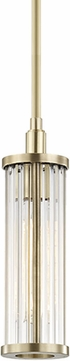 Hudson Valley 9120-AGB Marley Modern Aged Brass Mini Pendant Light