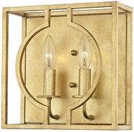 Hudson Valley 9200-GL Octavio Contemporary Gold Leaf Wall Lighting Fixture