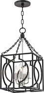 Hudson Valley 9214-AIPN Octavio Modern Aged Iron / Polished Nickel Combo 12  Foyer Lighting Fixture