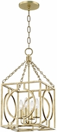 Hudson Valley 9214-GL Octavio Contemporary Gold Leaf 12  Entryway Light Fixture
