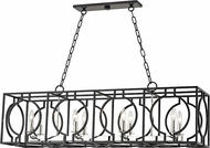 Hudson Valley 9246-AIPN Octavio Modern Aged Iron / Polished Nickel Combo Island Lighting