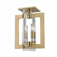 Hudson Valley 9311-AGB Wellington Modern Aged Brass Home Ceiling Lighting
