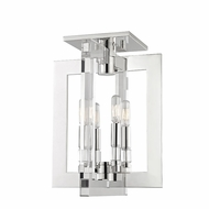 Hudson Valley 9311-PN Wellington Contemporary Polished Nickel Overhead Light Fixture