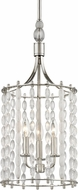 Hudson Valley 9313-PN Whitestone Contemporary Polished Nickel 11  Entryway Light Fixture