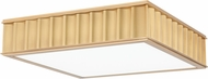 Hudson Valley 932-AGB Middlebury Contemporary Aged Brass 16 Overhead Light Fixture