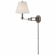 Hudson Valley 9321-HN Ravena Historic Nickel Finish 11  Wide Swing Wall Lighting