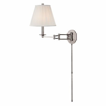 Hudson Valley 9321-PN Ravena Polished Nickel Finish 11  Wide Wall Lamp