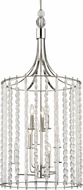 Hudson Valley 9322-PN Whitestone Contemporary Polished Nickel 20.5  Entryway Light Fixture