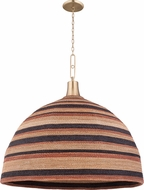 Hudson Valley 9340-AGB Lido Beach Contemporary Aged Brass Drop Lighting