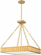 Hudson Valley 935-AGB Middlebury Contemporary Aged Brass Pendant Lamp