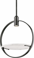 Hudson Valley 9400-OB Dreyer Modern Old Bronze Halogen Ceiling Light Pendant