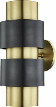 Hudson Valley 9420-AOB Cyrus Modern Aged Old Bronze Wall Light Sconce