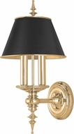 Hudson Valley 9501-AGB Cheshire Contemporary Aged Brass Wall Lighting Sconce