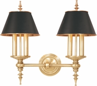 Hudson Valley 9502-AGB Cheshire Modern Aged Brass Wall Sconce Lighting