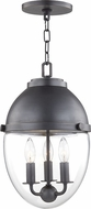Hudson Valley 9511-OB Kennedy Contemporary Old Bronze Mini Pendant Light Fixture