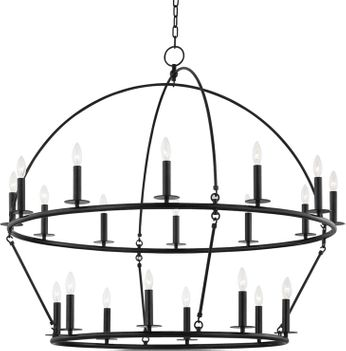 Hudson Valley 9549-AI Howell Aged Iron Ceiling Chandelier