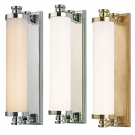 Hudson Valley 9708 Sheridan Transitional 15.5  Tall LED Wall Sconce
