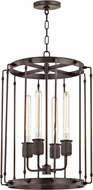 Hudson Valley 9716-OB Hyde Park Contemporary Old Bronze 16.25  Foyer Lighting Fixture