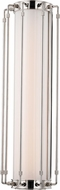 Hudson Valley 9720-PN Hyde Park Contemporary Polished Nickel LED Sconce Lighting