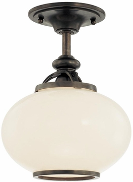 Hudson Valley 9809F Canton Contemporary 9 Inch Semi-Flush Ceiling Fixture