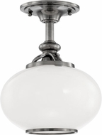 Hudson Valley 9809F-ON Canton Old Nickel 9 Ceiling Light Fixture