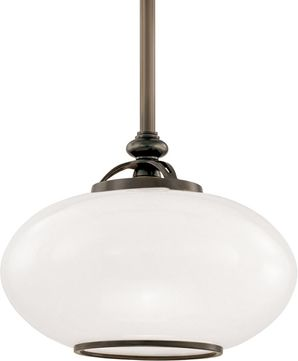 Hudson Valley 9812-OB Canton Old Bronze 12  Drop Ceiling Light Fixture