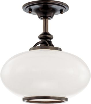 Hudson Valley 9812F-OB Canton Old Bronze 12 Ceiling Light Fixture