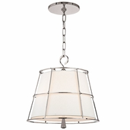 Hudson Valley 9816-PN Savona Polished Nickel Finish 15.25  Tall Hanging Pendant Lighting