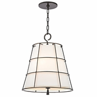 Hudson Valley 9818-OB Savona Old Bronze Finish 21.5  Tall Pendant Hanging Light