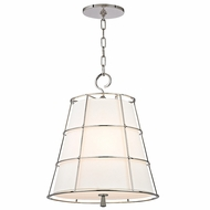 Hudson Valley 9818-PN Savona Polished Nickel Finish 17.75  Wide Hanging Light Fixture