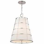 Hudson Valley 9820-PN Savona Polished Nickel Finish 27  Tall Ceiling Light Pendant