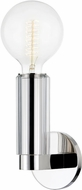 Hudson Valley 9841-PN Gilbert Contemporary Polished Nickel Lamp Sconce