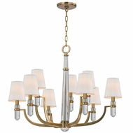 Hudson Valley 989 Dayton Transitional 33  Wide Chandelier Lighting