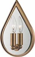 Hudson Valley 9900-AGB Andes Aged Brass Wall Light Sconce
