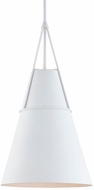 Hudson Valley 9914-WP Lange Modern White Plaster Pendant Lighting