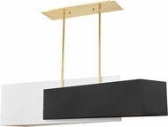 Hudson Valley KBS1350907-AGB Ratio Contemporary Aged Brass Island Lighting