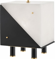 Hudson Valley KBS1351203-AGB Ratio Contemporary Aged Brass Table Light