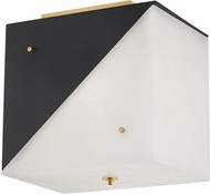 Hudson Valley KBS1351503-AGB Ratio Modern Aged Brass Ceiling Light Fixture