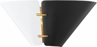Hudson Valley KBS1352102S-AGB Split Contemporary Aged Brass Wall Lighting