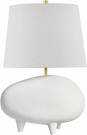 Hudson Valley KBS1423201A-AGB/MW Tiptoe Modern Aged Brass / Matte White Table Top Lamp