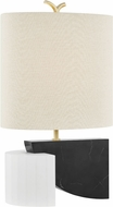 Hudson Valley KBS1428201-AGB Construct Modern Aged Brass Table Light
