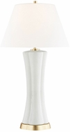 Hudson Valley L1036-CS Elissa Cream Shagreen Table Lamp Lighting