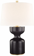 Hudson Valley L1037-EB Locust Grove Ebony Small Table Top Lamp