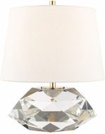 Hudson Valley L1038-AGB Henley Aged Brass Table Light