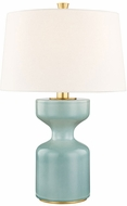 Hudson Valley L1039-TQ Locust Grove Turquoise Large Lighting Table Lamp