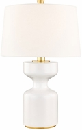 Hudson Valley L1039-WH Locust Grove White Large Table Lamp Lighting
